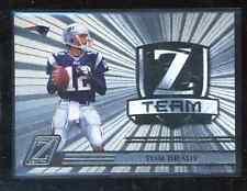 2005 Zenith Z Team #ZT-17 Tom Brady football card