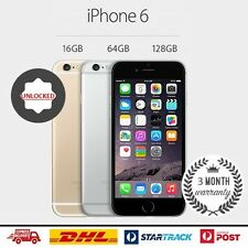 AS NEW Apple iPhone 6 16GB Silver Smartphone Unlocked 4G LTE GSM FREE SHIPPING!