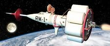 GLENCOE/STROMBECKER 6002 1/72ND SCALE RETRIEVER  ROCKET MODEL KIT, NEW REISSUE