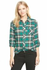 Chemises verte pour femme