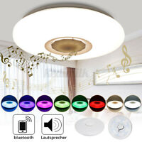 48W 36/108LED Music Ceiling Light bluetooth APP Speaker Down Fixture Lamp Modern