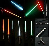 """NEW 48"""" BLACK Aluminum Light Sword Saber Color Changing LED: RED-GREEN-BLUE"""