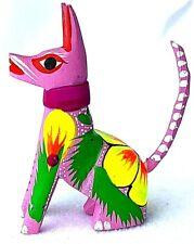 Little DOG Alebrije Hand Carved Oaxacan Folk Art Oaxaca Mexico