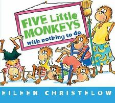 Five Little Monkeys with Nothing to Do by Eileen Christelow (2014, Board Book)