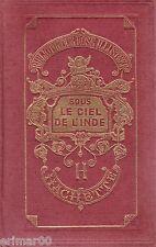 Sous le ciel de l'INDE / Bibliothèque Rose Illustrée / L.N. LAVOLLE // 1 Edition