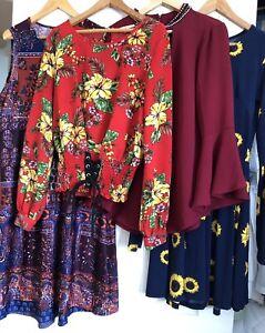 Anthropologie dresses shirts lot girls ladies Meraki Miley & Molly s small $60