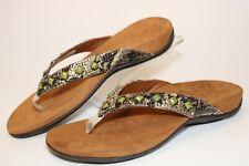 Vionic Size 9 40 Womens Floriana Flip Flop Flat Sandals Comfort Shoes TVW4401