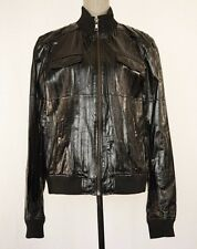 NEW Authentic $2495 Dolce & Gabbana D&G EEL Leather Jacket Size 54