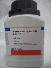 Potassium hydroxide pellets KOH high purity soap making base