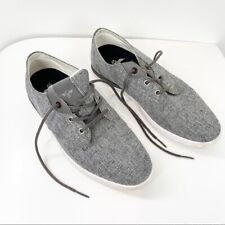 CR Creative Recreation Mens Size 7.5 Gray Lace Up Sneakers Casual