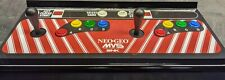 Neo Geo Arcade Control Panel Overlay  - 23.10/16  by 9.25 inches poly laminated