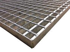 Schweißpressrost Gitterrost SP-Rost 34x38mm Treppe Podest Verzinkt 120x150cm