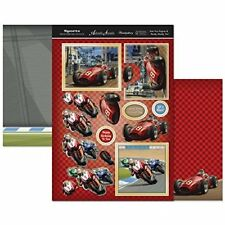 Sports & Leisure decoupage Set A4-Start Your Engines & Ready, Steady, Go