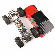 D90 RC 1:10 Rock Crawler Axial Car 4WD SCX10 Carbon Fiber Chassis+Body Shell Kit