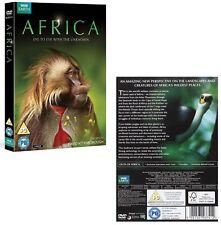 AFRICA (2013): David Attenborough Presents - BBC Nature TV Series - NEW  DVD UK
