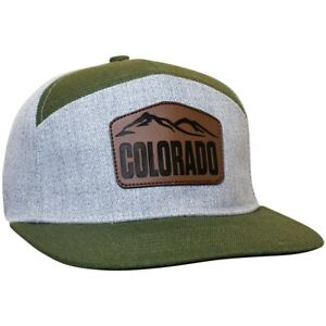 HeadsweatsPerformance Townie Hat with Colorado Front Range Pattern
