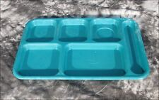 "* Cambro BCT1014 Blue 6-Compartment 15x10"" Cafeteria Trays / Qty Available"