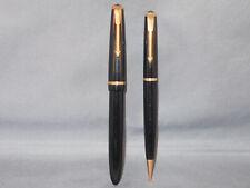 Parker Vintage English Slimfold Set--fountain pen and pencil--flexible medium