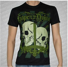 Hope For The Dying Our Fallen Comrades punk rock t-shirt  L- XL -XXL  NEW