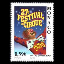 Monaco 2003 - International Circus Festival, Monte Carlo - Sc 2280 MNH