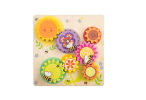 Le Toy Van - Petilou - Gears & Cogs Busy Bee Learning Puzzle