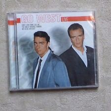"CD AUDIO MUSIQUE / GO WEST ""LIVE"" 15T CD ALBUM NEUF POP"
