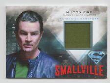 Smallville Costume Trading Card Milton Fine #M29