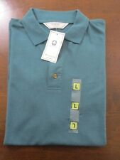 Burton Polo shirt new with tags. Size Large. Dark green. 100% cotton.
