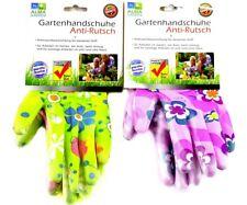 2 PAAR Gartenhandschuhe BLUMEN FLOWER Gartenarbeit Handschuhe Garten Größe 8