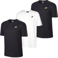 Nike Mens T Shirt Tee Crew Top Repeat Taped Casual Cotton TShirt T-Shirt Tops
