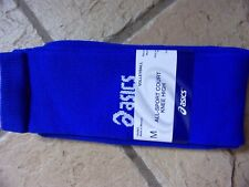 asics All-Sport Court Knee High Volleyball Socks Royal Blue Medium NWT Size M
