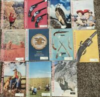 Lot of 11 THE AMERICAN RIFLEMAN Magazines 1958-1959