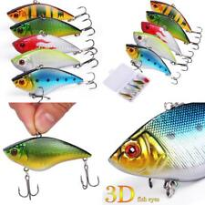 Sougayilang Fishing Lures Large Hard Bait Minnow Vib Lure With Treble Hook Life-