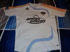 Adidas MLS Houston Dynamo #14 Dwayne DeRosario White Soccer Jersey Youth L