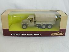Solido Military GMC Tarpaulin in Sand Livery. Dutch Promotional. 1:50. Boxed