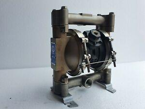 "Graco D54311 Husky 716 Diaphragm Pump 3/4"" AODD pump Stainless Steel"