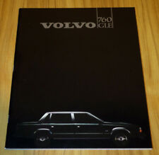 Catalogue VOLVO 760 GLE de 1983