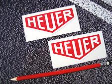 Heuer Stickers Tag Watch 9.5cm  F1 Classic Mclaren Williams Ferrari Lotus