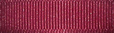 25mm Berisfords Wine Red Grosgrain Ribbon 20m Reel