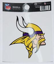 Minnesota Vikings Small Static-Cling Window Decal Sticker - 3 x 4 - NFL