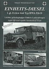 Tankograd 4017: Einheits-Diesel Light Off-Road-Capable Standardised Truck