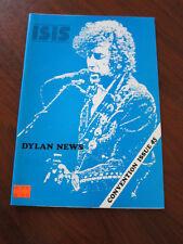 Isis Bob Dylan fan club magazine 45