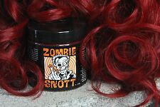 """ZOMBIE SNOTT """"Route 666 Red"""" BRAND NEW long-lasting hair color to DYE for! 4oz"""