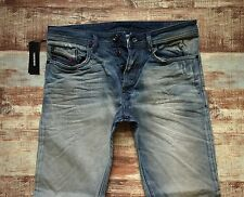 NEW DIESEL JEANS BUSTER Size 32x32 Reg. Slim-Tapered Made in ITALY was $298.00