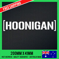 HOONIGAN Sticker Decal - Funny Sticker Drift JDM Sticker illest illmotion Stance