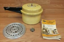 Vintage Genuine Mirro Matic (M-0494-35) 4QT Pressure Cooker Canner **READ**