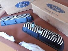 NOS MUSTANG 65 66 67 68 COBRA VALVE COVERS 289 302 S2MS-6A582-A-B 1965 1966