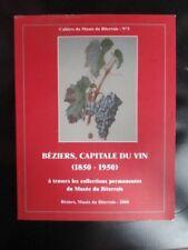 BEZIERS CAPITALE DU VIN à travers les collections permanentes du musée biterrois