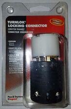 4 NEW Pass & Seymour 15A 125V Twist / Turn Lock Connectors Part # L515-CCCV3