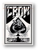Crow Jugando a las Cartas By Bacon Playing Tarjeta Company Póquer Cardistry